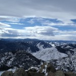 View from Greyrock Summit at the end of Greyrock Trail